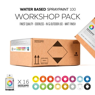 MTN WATER BASED WORKSHOP 16 PACK 100ML